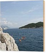 Lokrum From  Buza Wood Print