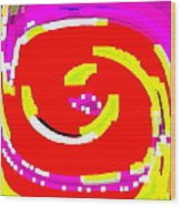 Lol Happy Iphone Case Covers For Your Cell And Mobile Devices Carole Spandau Designs Cbs Art 148 Wood Print by Carole Spandau