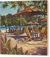 Lola's In Costa Rica Wood Print