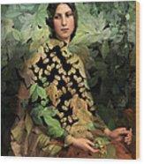 Lolita - Des Femmes Et Des Fleurs 0102 Wood Print