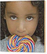 Lollipop Wood Print