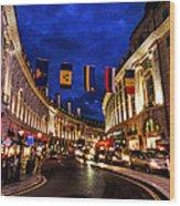 London 022 Wood Print
