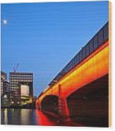 London Bridge. Wood Print