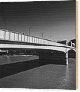 london bridge over the river thames central London England UK Wood Print