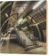 London Bridge Station 1.0 Wood Print