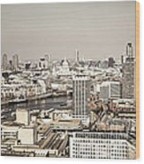 London Cityscape Wood Print