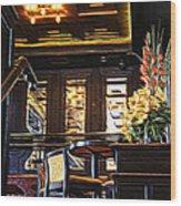 London Club Wood Print