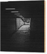 London Tunels 1 Wood Print