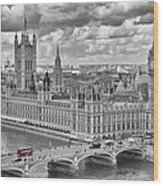London Westminster Wood Print