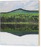 Lone Lake Wood Print