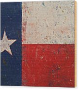 Lone Star Wood Print by Michael Creese