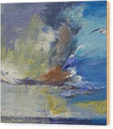 Loneliness Wood Print by Michael Creese