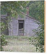 Lonely Doorway Wood Print