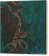Lonely Jazz Wood Print