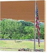 Lonestar Park - Backstretch - Photopower 2204 Wood Print