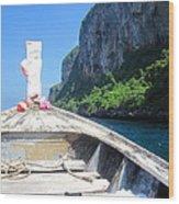 Long Boat Tour - Phi Phi Island - 0113157 Wood Print