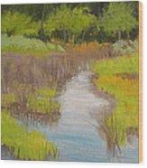 Long Creek Marsh Wood Print