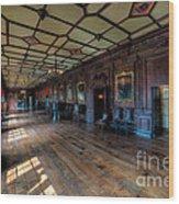 Long Gallery Wood Print