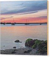 Long Island Wood Print by JC Findley