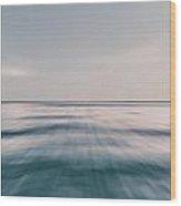 Long Island Sound Wood Print