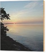 Long Key Sunrise Wood Print