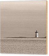 Long Point Sentinel Provincetown Massachusetts Wood Print