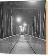 Long Walking Bridge Wood Print