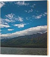 Long White Cloud Wood Print