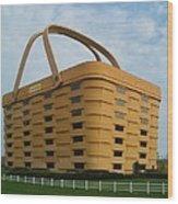 Longaberger Basket Company Nf Wood Print