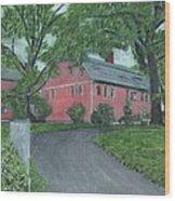 Longfellow's Wayside Inn Wood Print