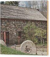 Longfellow's Wayside Inn Grist Mill Wood Print