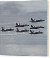 Longing For Blue Skies Wood Print