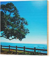 Longing For The Sea Wood Print