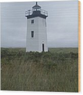 Longpoint Lighthouse Wood Print