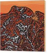Longs Peak - Colorado Wood Print