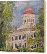 Longwood Natchez Mississippi Wood Print