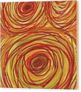 Look Deep Wood Print
