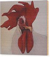 Looking Fierce Wood Print by Kelley Smith