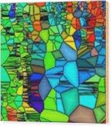Looking Glass 1 Wood Print