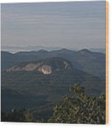 Looking Glass Mountain Wood Print
