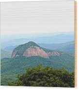 Looking Glass Rock Wood Print