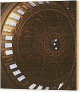 Looking Up London Saint Paul's Wood Print