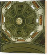 Looking Up Salzburg Cathedral 2 Wood Print