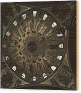 Looking Up Saint Mark's Wood Print