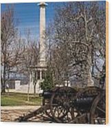 Lookout Mountain Peace Monument 2 Wood Print