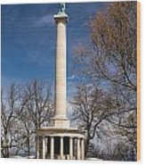 Lookout Mountain Peace Monument 4 Wood Print