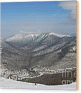 Loon Mountain Ski Resort White Mountains Lincoln Nh Wood Print