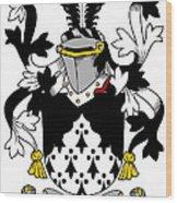 Looney Coat Of Arms Irish Wood Print