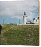 Loophead Lighthouse IIi Wood Print