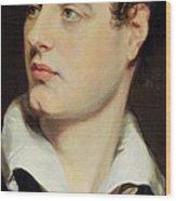 Lord Byron Wood Print by William Essex